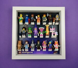 Display-Frame-for-LEGO-Movie-2-Minifigure-series-Fits-all-20-Figures