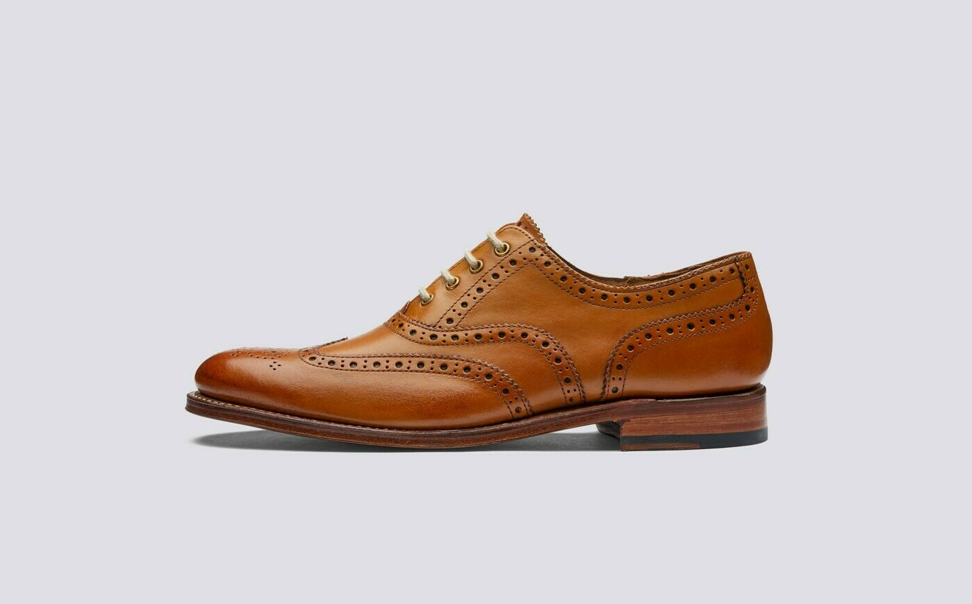 Handmade Women's Genuine Leather Oxford Brogue Wingtip Lace-Up Shoes