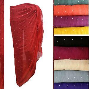 39581918ce84c Image is loading Diamante-Large-Sarong-Beach-Diamante-Dress-Wrap-Swimwear-