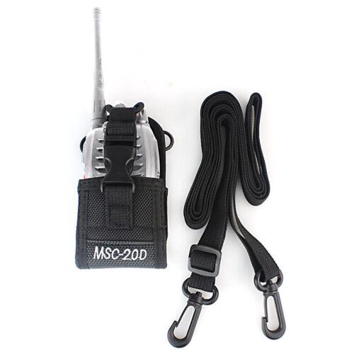 MSC-20D Multifunctional Ham Radio Pouch Bag Holster Case for Baofeng YAESU Icom