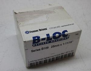 """Fenner Drives T901025 B-LOC Keyless Locking Device Series B109 25mm x 1-11//16/"""""""