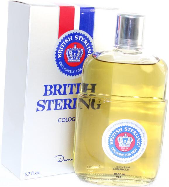 BRITISH STERLING BY DANA 5.7 OZ EDC SPLASH FOR MEN NEW IN BOX