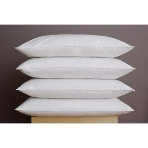 10-Pack-White-Extra-Filled-Handmade-In-Britain-Duck-Feather-Cushion-Inner-Pad