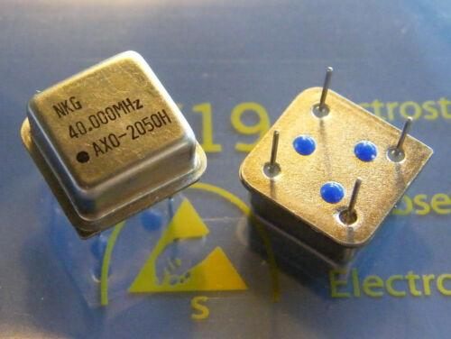 10x 40.000 MHz Crystal Oscillator ± 50ppm NKG