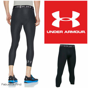 1c7e7e3cf51a Details about Under Armour Heat Gear Mens Compression Training Base Layer  3 4 Tights S-2XL NWT