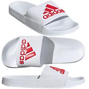 Détails sur Hommes Adidas curseurs Sandals Summer Piscine Douche Sandales Gym Jardin Chaussures- afficher le titre d'origine