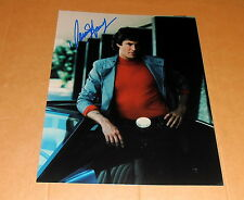 David Hasselhoff *Knight Rider*, original signiertes Foto 20x25 *ausgeschrieben*