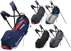 Taylormade FlexTech Golf Stand Carry Bag 2019 5 way top 4.5 Lb ...