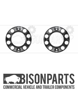 "New Design 22.5/"" Universal Truck Front Outer Wheel Trim Cover Doughnut BP110-210"