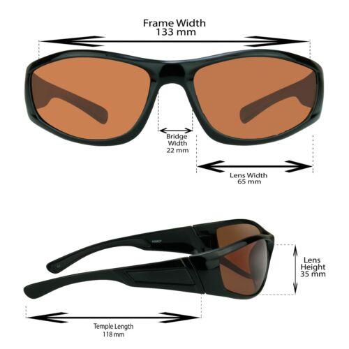 POLARIZED Blue Blocker HD Vision Sunglasses FISHING Motorcycle Driving Glasses