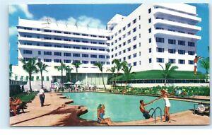 Image Is Loading 1950s Sans Souci Hotel Ocean Front Miami Beach