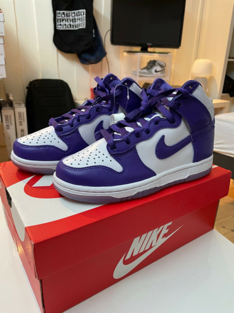 Sneakers, str. 35,5, Nike Dunk High Varsity Purple ,…