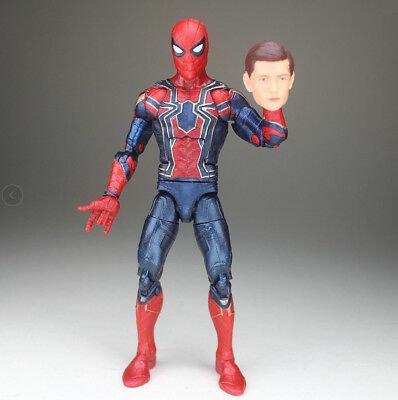 Marvel Legends Avengers Infinity War Iron Spider Spiderman Tom Holland Figure