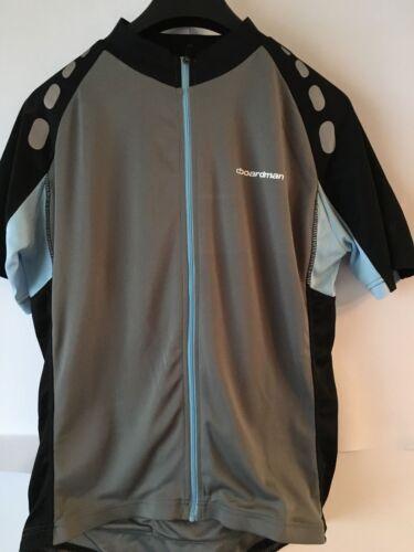 Femme Boardman Maillot De Cyclisme Gris//Bleu Tailles Disponibles 8//12//14 Neuf Avec étiquettes RRP £ 29.9