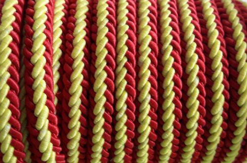 De 1 a 80 metros cordon ESPAÑA de 6 x 4mm pulsera collares mundial futbol bander