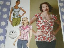 Butterick B6217 PATTERNs by Gertie Misses Blouse Size 4-20