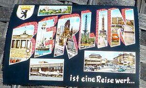 Berlin-Est-une-Voyage-Valeur-Carte-Postale-50er-60er-Annees-Kruger-921-114-A