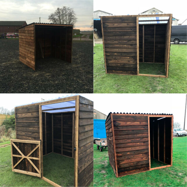 Field Shelter / Stable Light Weight Animal Shelter Ponies, Sheep, Goats Pet