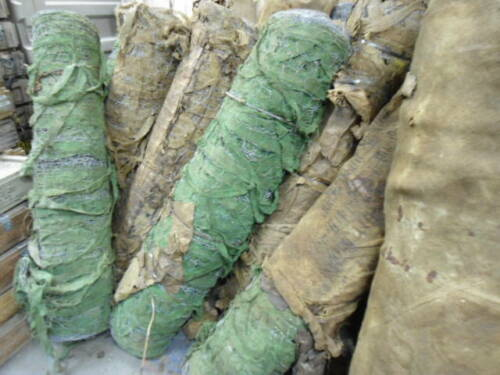 Green U.S Army WWII Camouflage Netting Roll