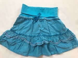 Shilav Girls Size 2 Years Blue Pinwale Corduroy Ruffle Tiered 100% Cotton Skirt Cleaning The Oral Cavity. Baby & Toddler Clothing