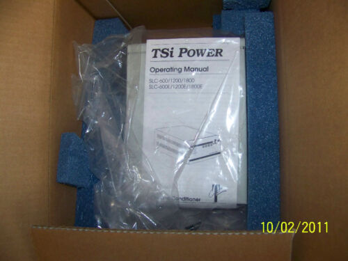SLC-1800 TSI POWER CORP AUTOMATIC VOLTAGE REGULATOR  PN