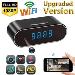 NEW 1080P Spy Camera WiFi Hidden Wireless Night Vision Security Nanny Cam Alarm