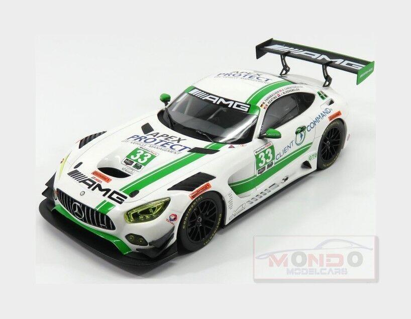Mercedes Gt-S Amg Amg Amg Gt3 Riley Amg H Daytona 2017 NOREV 1 18 NV183494 Model 5b8e67