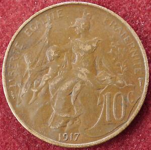 France-10-Centimes-1917-D2004