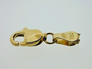 Vintage-18-Carat-Yellow-Gold-Lobster-Claw-Trigger-Clasp-9-5-mm-0-83-grams