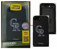 OtterBox Defender for Apple iPhone 5 5S MLB Colorado Rockies 77-50008 (W/O Clip)