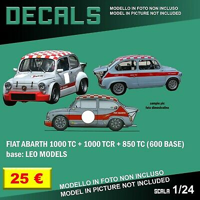 DECALS repro Fiat 131 Abarth Alitalia Alen 1//24 1 24 Bburago Italeri Esci decal