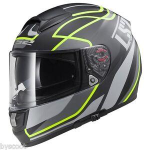 Casque-integral-LS2-FF397-Vector-moto-scooter-quad-Pinlock-double-ecran-NEUF