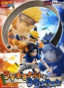 Megahouse   Series Remix Naruto Uzumaki & Sasuke Uchiha à l'échelle 1/8