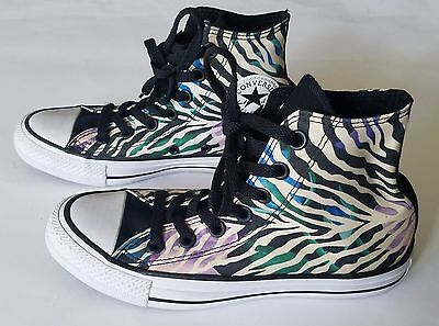 Converse Chuck Taylor All Star Zebra Floral High Top 554888F Women's Size 5 | eBay