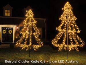 LED-Weihnachtsbaum-Lichterbaum-Tannenbaum-Outdoor-135-450-cm-240-3000-LED-s