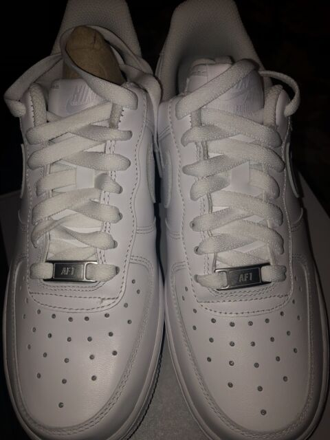 Nike Air Force 1 Women Size 8 White Basketball Shoes for ...