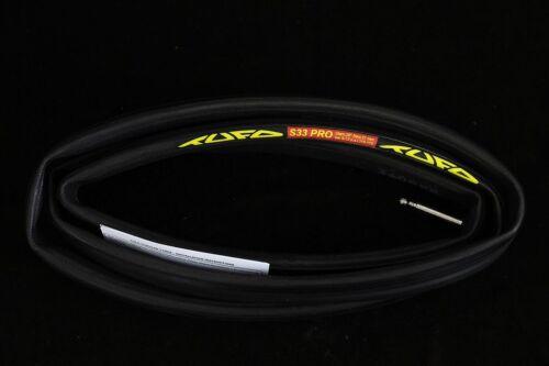 "red Tufo S33 Pro Tubular Tyre 28/"" 21 mm in black transparent beige"