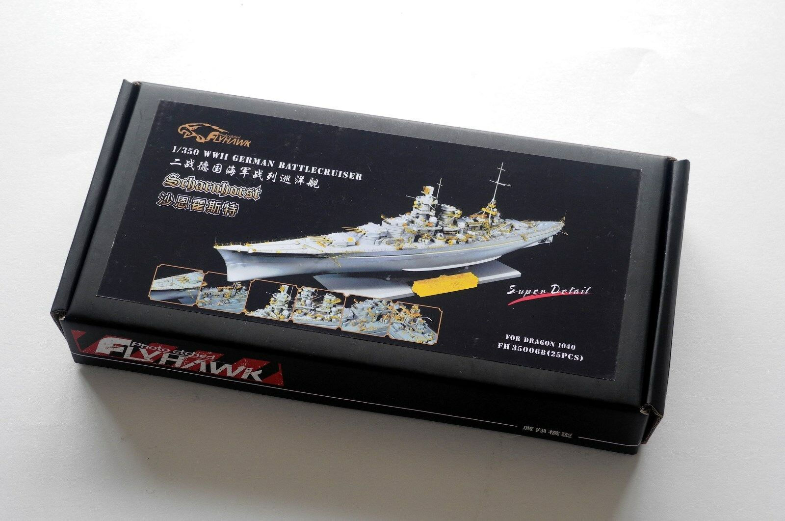 Flyhawk 1 350 350068 German Scharnhorst for Dragon