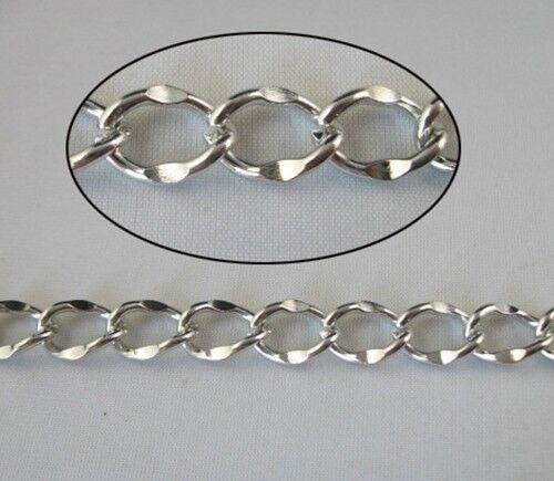 2 Meters unique diamond shape chain 12x8.5mm W18680