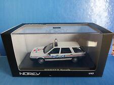 RENAULT 21 NEVADA BREAK 1989 POLICE NATIONALE NOREV 512110 1/43 R21 LHD