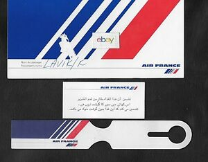 Bagage France Billet Vestebilletétiquette De Air Arabe 1997 w1qX8q6