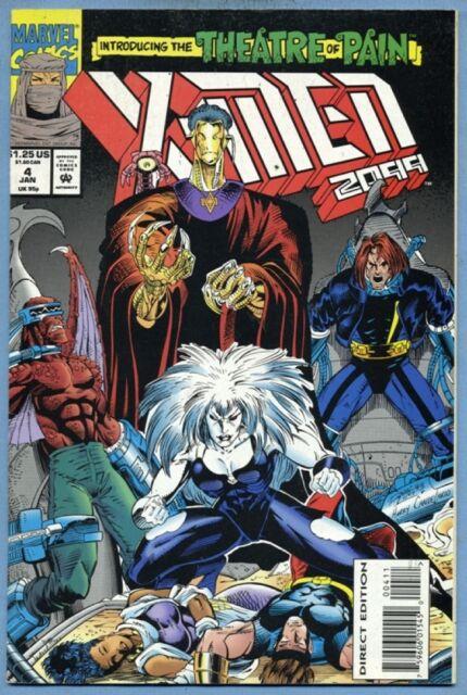 X-Men 2099 #4 (Jan 1994, Marvel) John Francis Moore Ron Lim