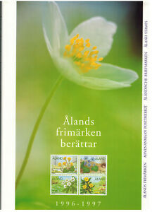 1996-1997 Vf Aland/finland Demand Exceeding Supply Mnh Aland 2-year Book Of Mint Stamps