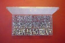 440 X ALU NIETEN SORTIMENT 2/3/4/5/6 MM Ø VOLLNIETEN SENK & RUND DIN 660+661+BOX