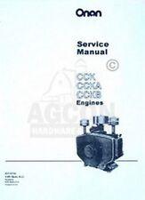ONAN CCK CCKA & CCKB Engine Service Shop Manual