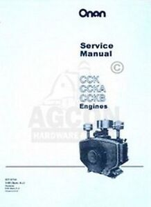 onan cck ccka amp cckb engine service shop manual image is loading onan cck ccka amp cckb engine service shop