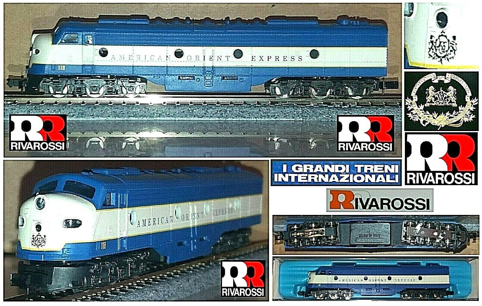 Rivarossi Vintage 9982 Locomotora Ciwl American Orient Express USA Caja Escala N