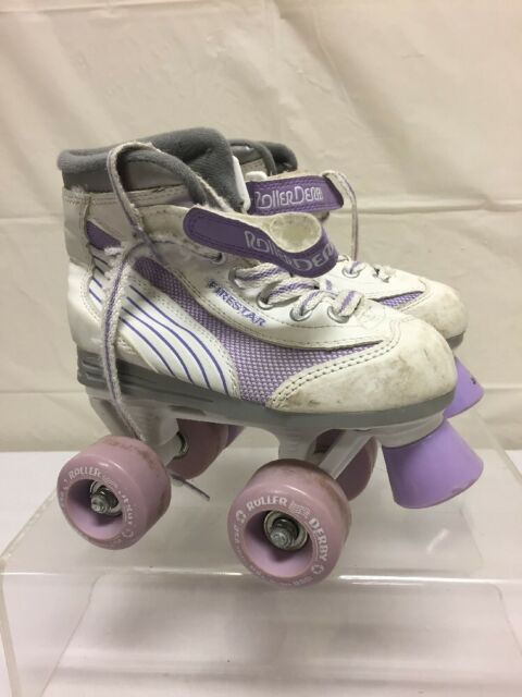 Roller Skates For Sale Ebay >> Roller Derby Girls Firestar Roller Skates Size 13