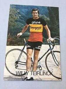 WILLY TEIRLINCK Tour De France Radsport signed Autogrammkarte 10x15