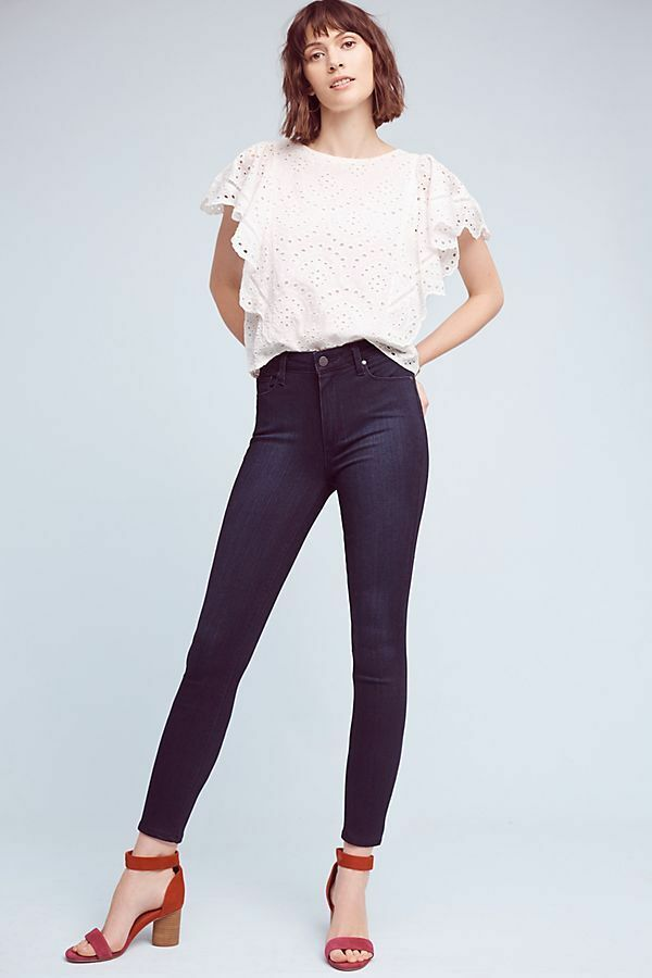 189   Paige Hoxton High-Rise Ultra-Skinny Jeans new  nwt size 28